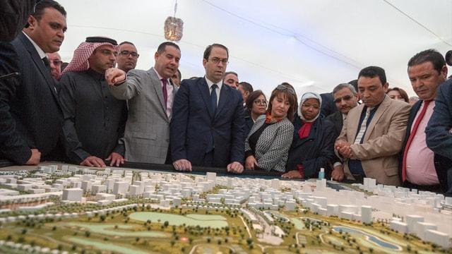 Tunus'ta Finans Limanı projesi