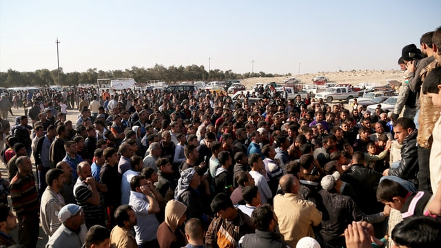 Türk Kızılayı'nın Musul halkına insani yardımı