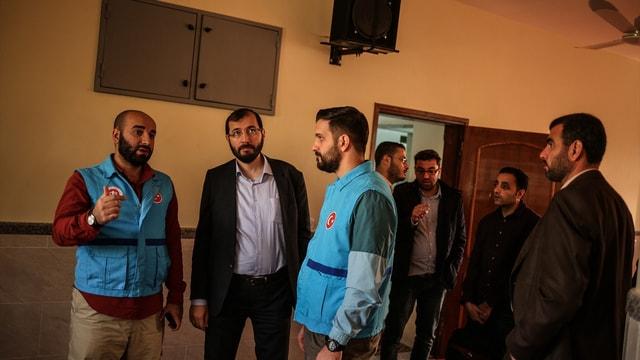 Türkiye Diyanet Vakfı heyeti Gazze'de