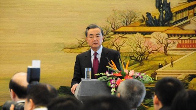 Vang-Guterres ortak basın toplantısı