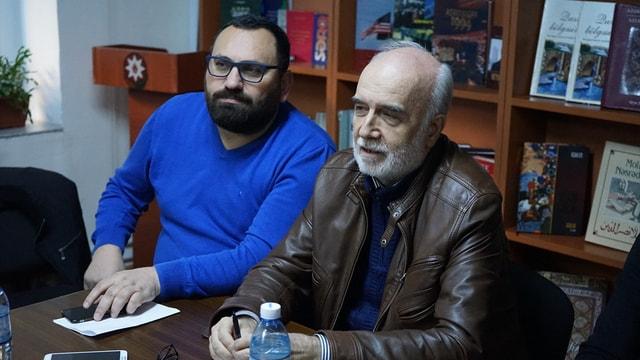 Yücel Çakmaklı sineması Bakü'de