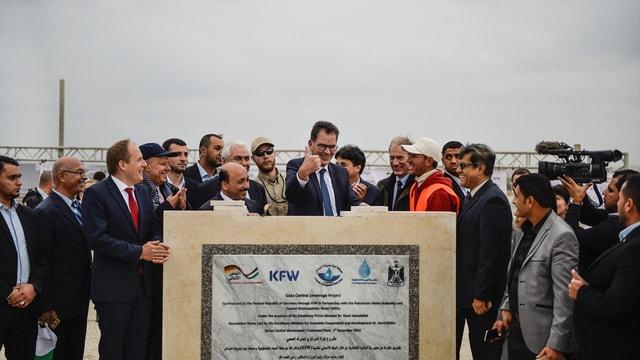 Almanya Ekonomik İşbirliği ve Kalkınma Bakanı Müller Gazze'de