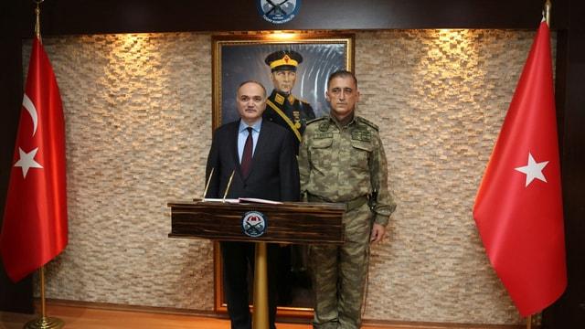 Bakanlar Özlü ve Özhaseki Kayseri'de