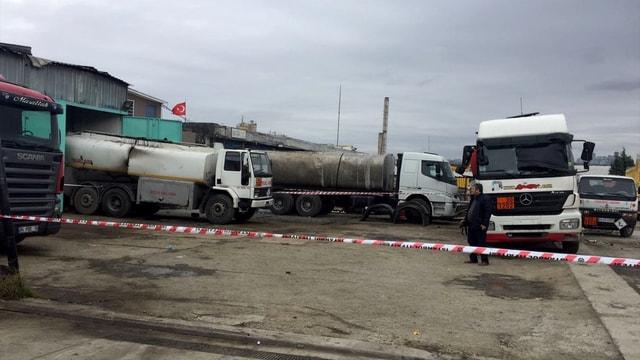 İstanbul Büyükçekmece'de akaryakıt tankeri patladı!