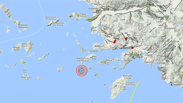 Çanakkalede deprem! 4,6 ile bir kez daha sallandı