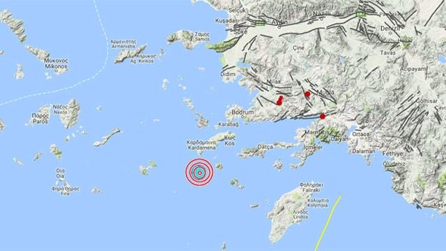 Çanakkale'de deprem! 4,6 ile bir kez daha sallandı