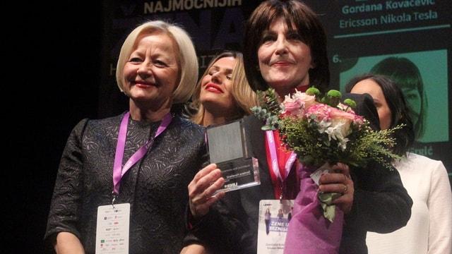 Hırvatistan'da İş Dünyasında Kadın konferansı