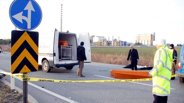 Kırklareli'nde trafik kazası: 2 ölü, 2 yaralı