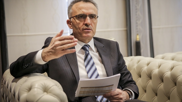 Maliye Bakanı Ağbal (1):