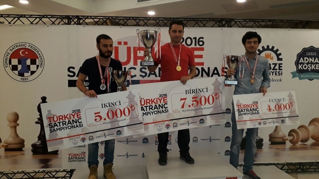 Türkiye Satranç Şampiyonası sona erdi