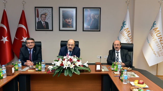YÖK Başkanı Saraç Tunceli'de