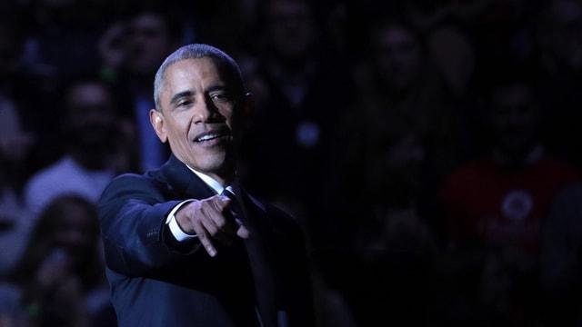 ABD Başkanı Obama'nın Chicago'daki veda konuşması