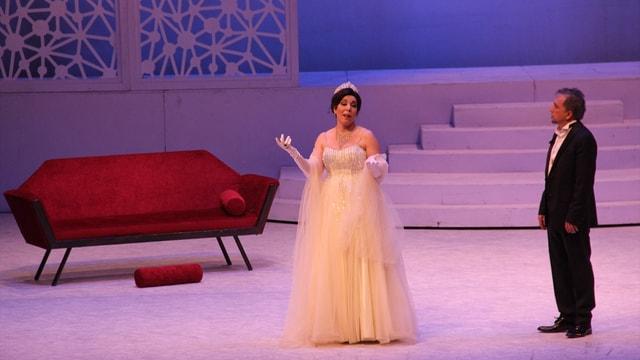 Antalya'da Şen Dul'un son gösterimi yapıldı
