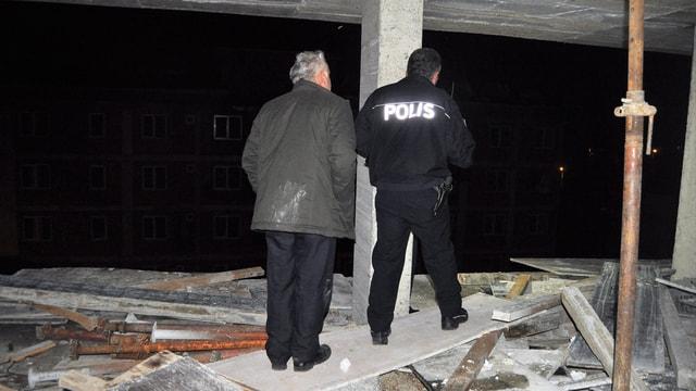 Bartın'da inşaattan düşen işçi öldü