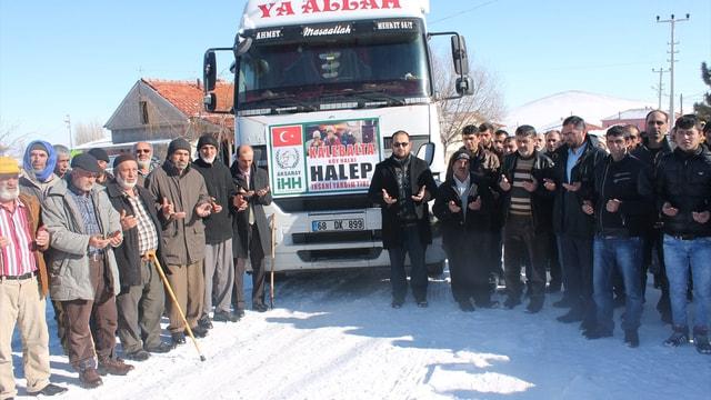 Çobandan Haleplilere yardım kampanyası