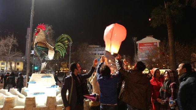 Denizli'de yeni yıl kutlamaları