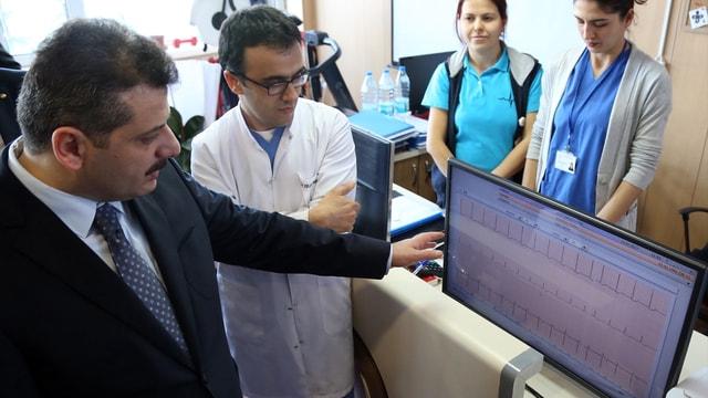 EKG testi kol saatinden takip edilebilecek