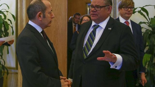 Finlandiya Dışişleri Bakanı Soini, TBMM'de