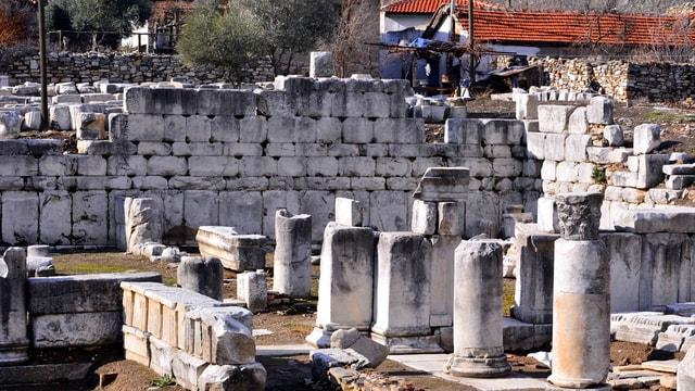 Gladyatörler kentinde kazı çalışmaları