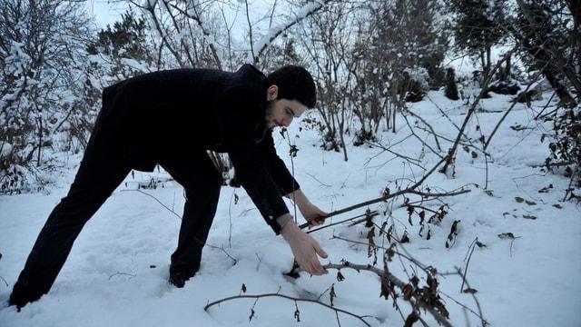 Kar yağışı fındık üreticisi için bereket
