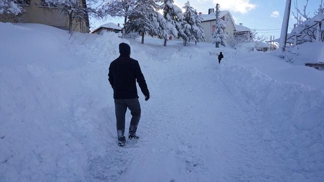 Konya'da kış