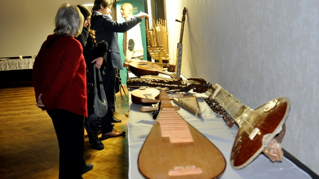 Macaristan'da 'Türk müzik enstrümanları tanıtım ve sergisi' programı