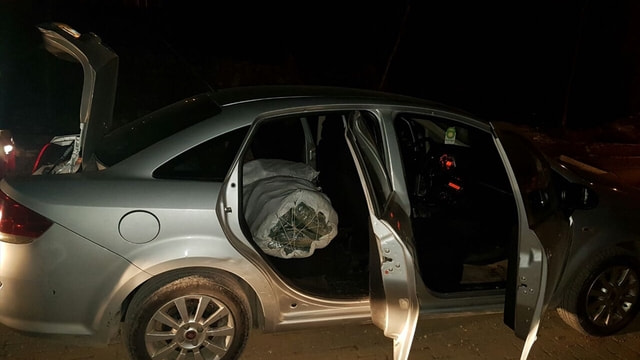 Mardin'de otomobilde 89 kilogram esrar ele geçirildi