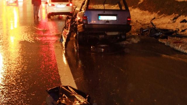 TEM otoyolunda trafik kazası: 1 ölü