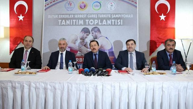 Türkiye Serbest Güreş Şampiyonası'na doğru