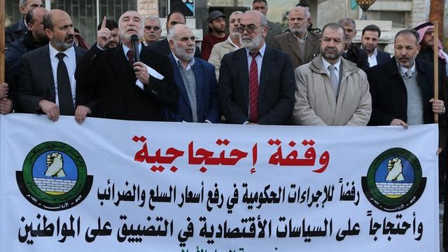 Ürdün'de zam karşıtı gösteri