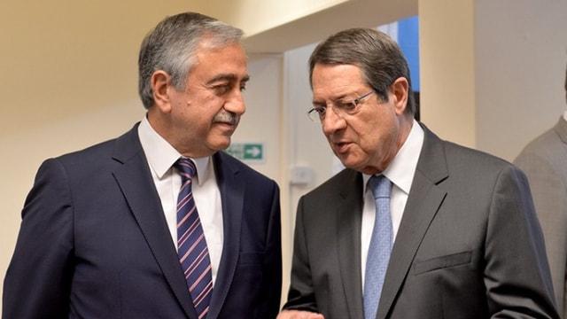 Kıbrıs görüşmelerinde kriz! Rum lider Anastasiadis görüşmeyi terketti