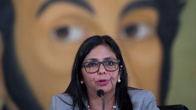 ABD'nin Venezuela Devlet Başkan Yardımcısı'na yaptırım kararı