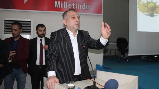 AK Parti'li Külünk Şırnak'ta partililerle buluştu
