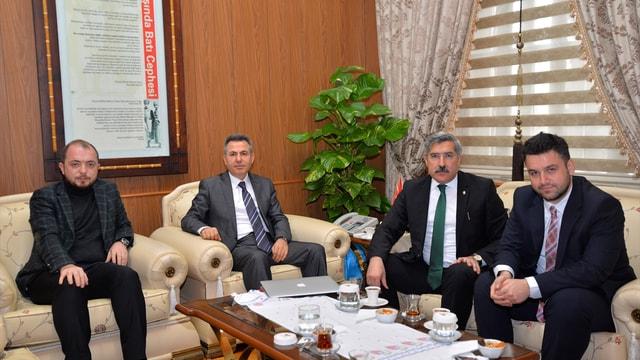 Bakan Yardımcısı Yayman'dan Bilecik Valisi Elban'a ziyaret