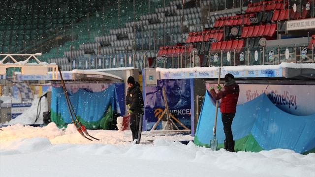 Çaykur Didi Stadı, Galatasaray maçına yetiştirilmeye çalışılıyor