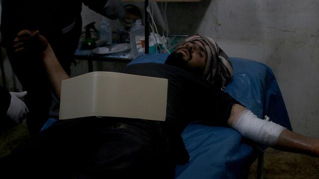 Dera'da sahra hastanelerine saldırı