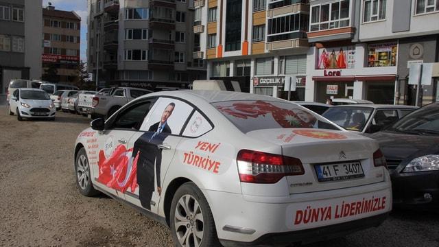 Erdoğan'a destek için yola çıkan Özavcı, Afyonkarahisar'da