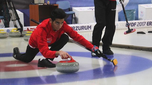 Erkek Milli Curling Takımı yarı finalde