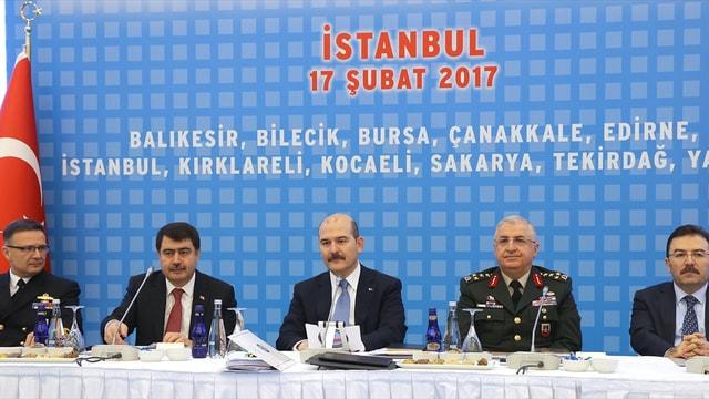 İstanbul'da Halk Oylaması Bölge Güvenlik Toplantısı yapıldı
