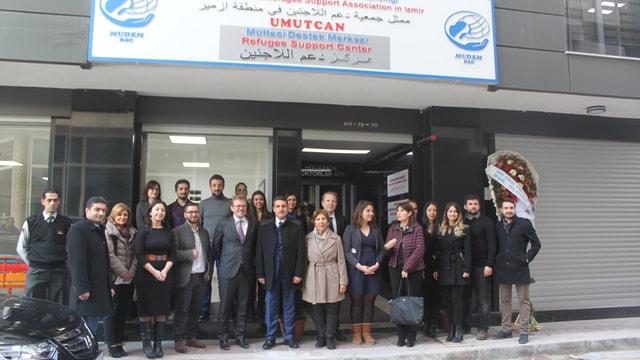 İzmir'de Mülteci Eğitim Destek Merkezi açıldı