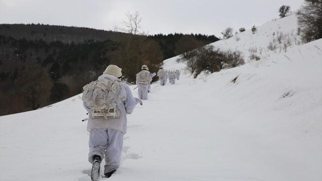 Karadeniz'de eksi 22 derecede operasyon