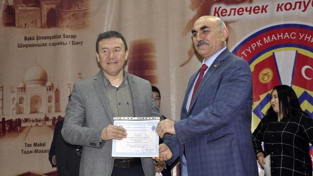 Kırgızistanlı turizmciler Türkiye'de iş tecrübelerini artırdı