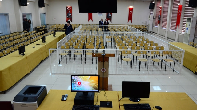 Kırklareli'nde darbecilerin yargılanacağı duruşma salonu hazır