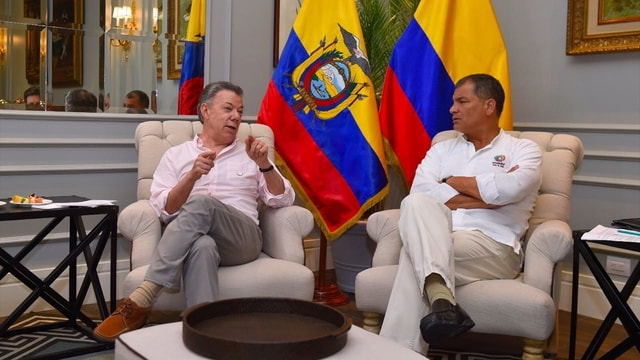 Kolombiya-Ekvador 5. Ortak Bakanlar Kurulu Toplantısı