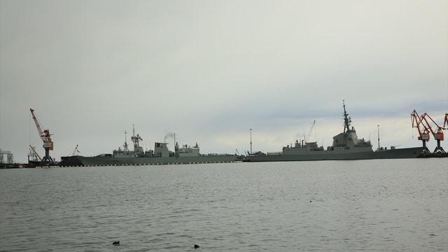 NATO Deniz Grubu savaş gemileri Samsun'da
