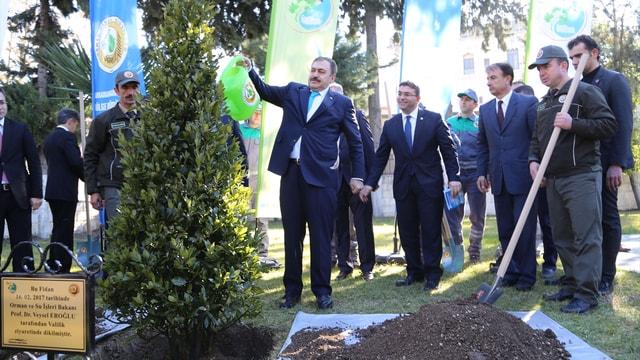 Orman ve Su İşleri Bakanı Eroğlu, Hatay'da