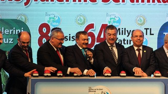 Orman ve Su İşleri Bakanı Eroğlu, Osmaniye'de