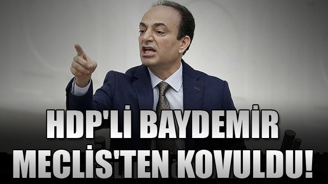 HDPli BaydemirMeclisten kovuldu!