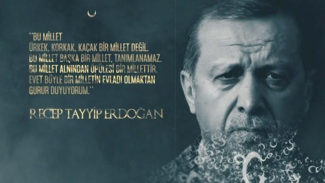 TRT'den Recep Tayyip Erdoğan'lı yeni reklam filmi