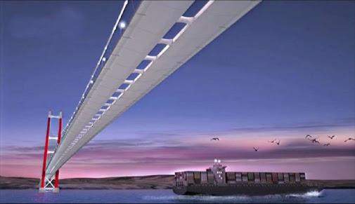 1915 Çanakkale Köprüsü'nün inşaatına fiilen başlandı